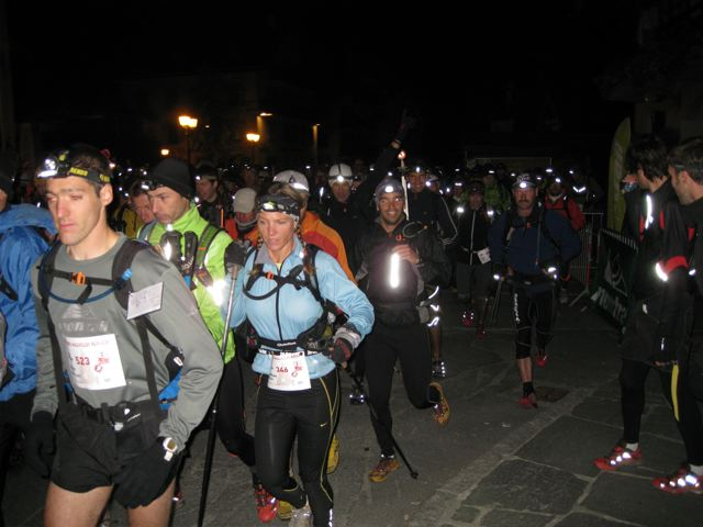 Headlamps on runners